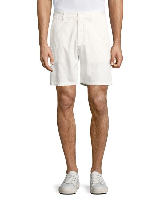 Vilebrequin - White Basic Embroidered Shorts for Men - Lyst