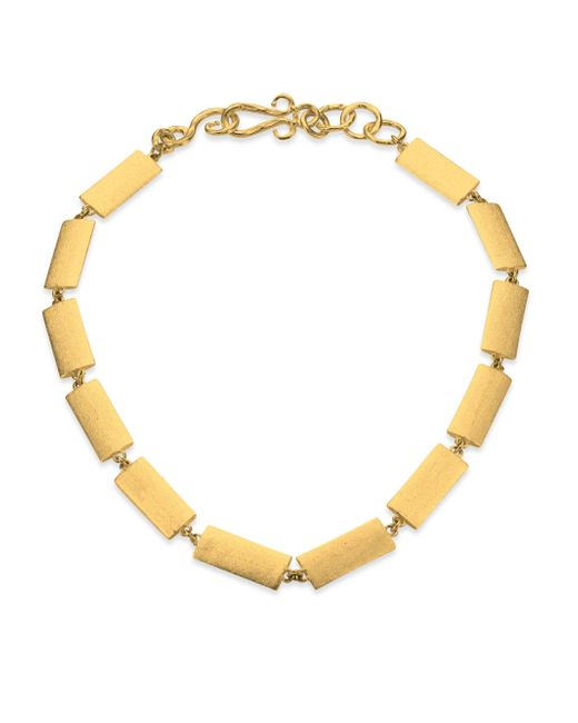 Stephanie Kantis - Metallic Textile Necklace - Lyst