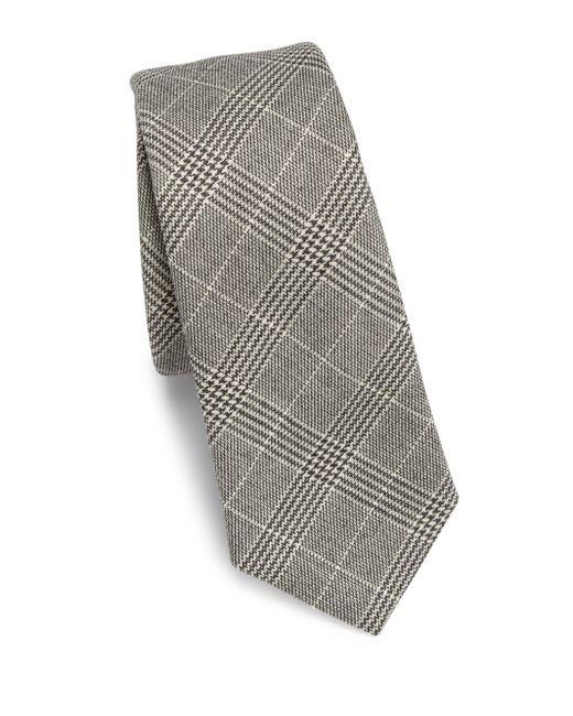 Saks Fifth Avenue | Black Modern Glenn Plaid Tie for Men | Lyst
