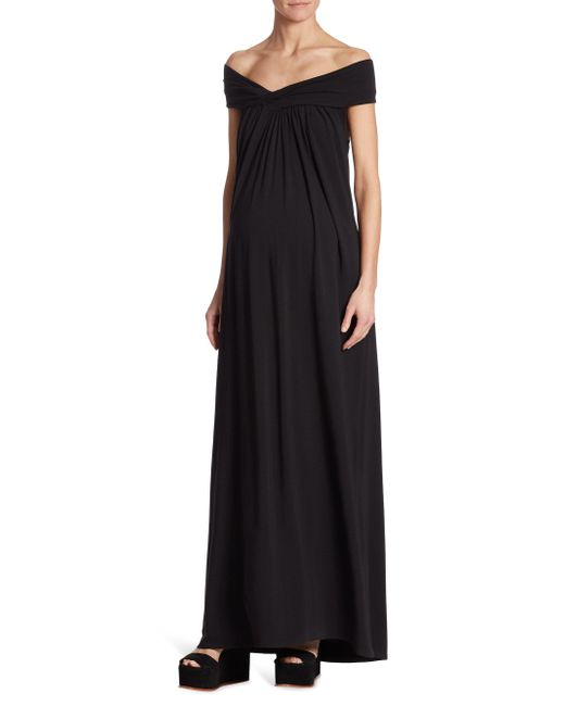 HATCH | Black Luella Off-the-shoulder Maxi Dress | Lyst