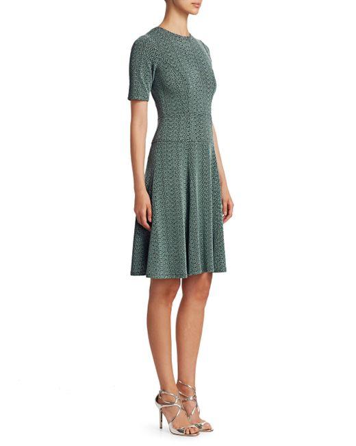 Nanette Lepore - Green Suspect Italian Knit Dress - Lyst