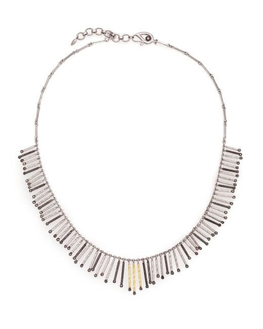 Coomi - Metallic Diamond, 20k Yellow Gold & Sterling Silver Necklace - Lyst