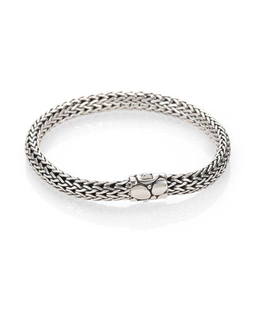 John Hardy - Metallic Kali Sterling Silver Small Chain Bracelet - Lyst