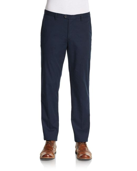 Ben Sherman | Blue Chino Trousers for Men | Lyst