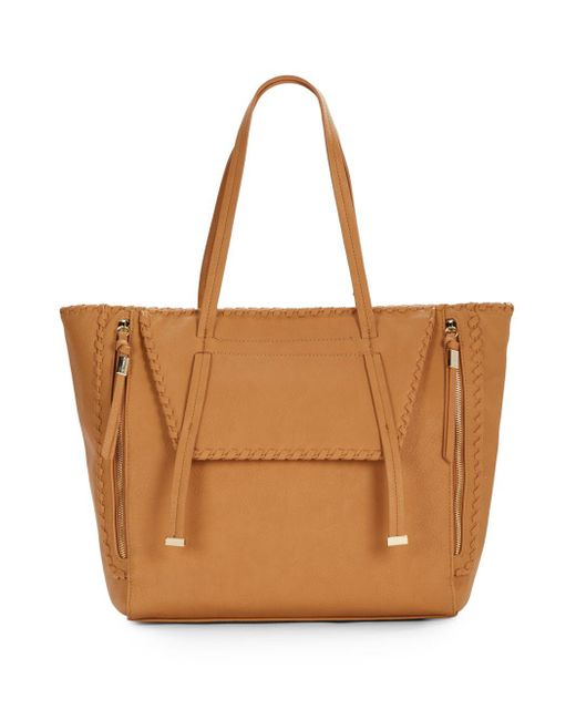 Big Buddha | Natural Anela Faux Leather Tote | Lyst