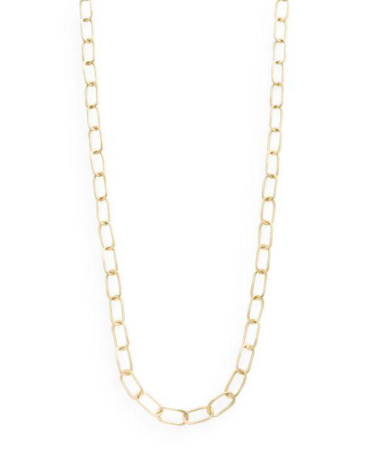 "Stephanie Kantis   Metallic Sovereign Hammered Chain Link Necklace/36""   Lyst"