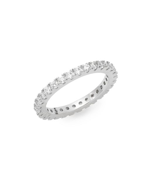 Saks Fifth Avenue | Metallic Eternity Band | Lyst