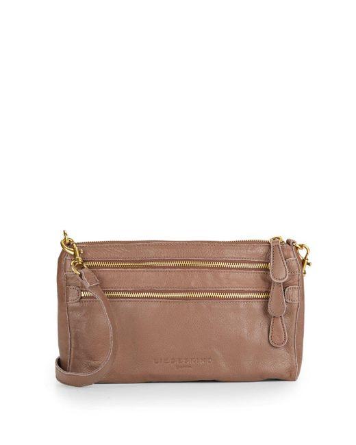 Liebeskind | Brown Kara Leather Crossbody Bag | Lyst