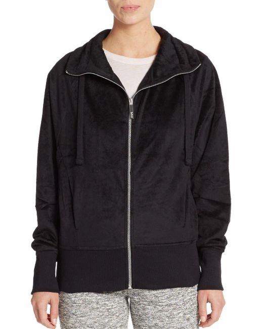 Marc New York | Black Velour Jacket | Lyst