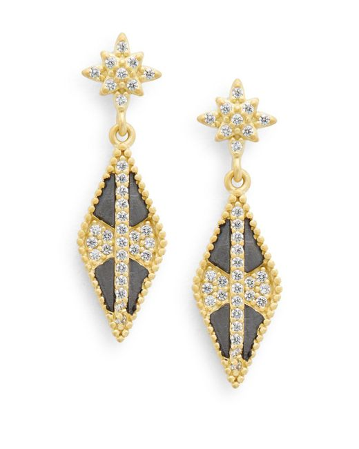 Freida Rothman | Metallic Pointed Drop Earrings | Lyst