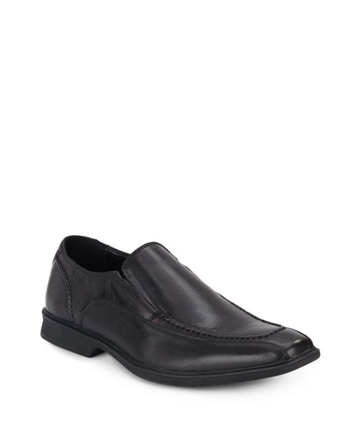 Kenneth Cole | Black Zoom Out Leather-blend Oxfords for Men | Lyst