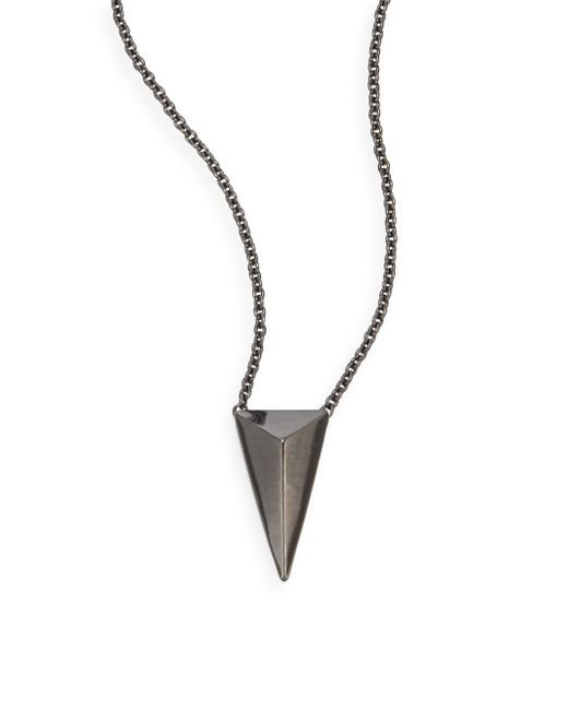 Alexis Bittar | Multicolor Miss Havisham Pyramid Pendant Necklace | Lyst
