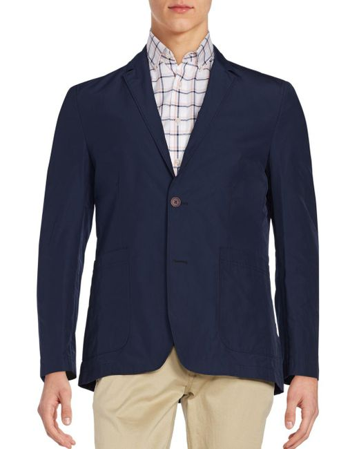 Vince Camuto | Blue Packable Blazer Jacket for Men | Lyst