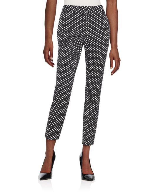 Diane von Furstenberg | Natural Genesis Dot-print Pants | Lyst