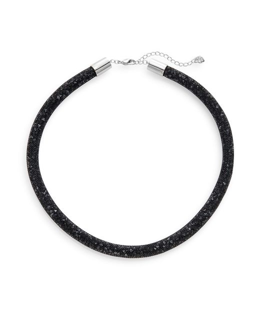 Swarovski | Black Stardust Crystal Necklace | Lyst