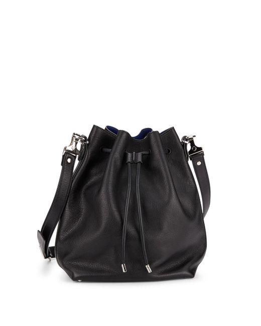 Proenza Schouler | Black Large Leather Bucket Bag | Lyst