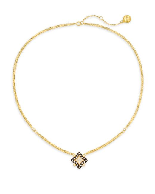 Freida Rothman | Metallic Layered Chain Star Pendant Necklace | Lyst