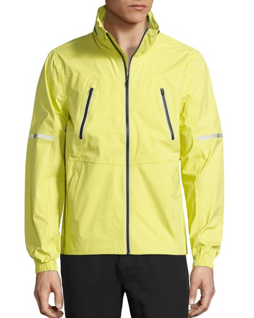 Revo | Yellow Detachable Hood Jacket for Men | Lyst