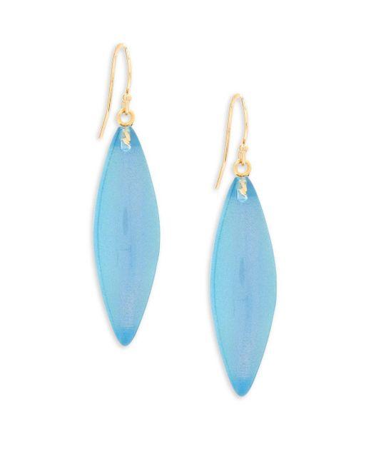 Alexis Bittar | Lucite Blue Opal Drop Earrings | Lyst