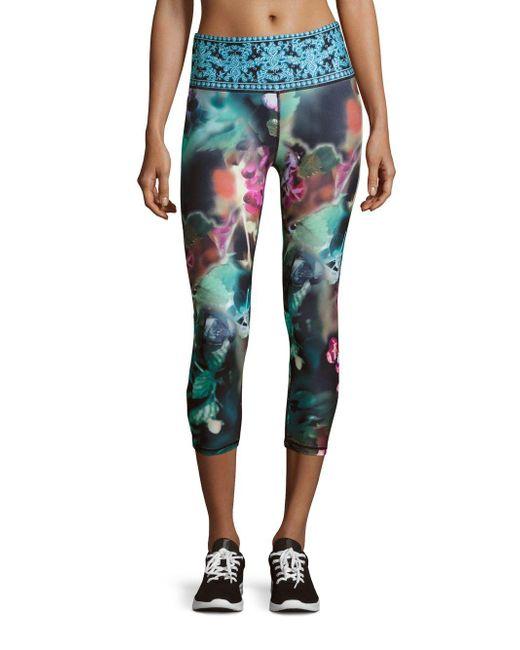 Nanette Lepore   Multicolor Printed Pull-on Leggings   Lyst