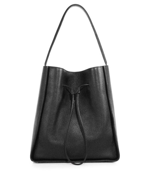 3.1 Phillip Lim | Black Soleil Large Leather Drawstring Bucket Bag | Lyst