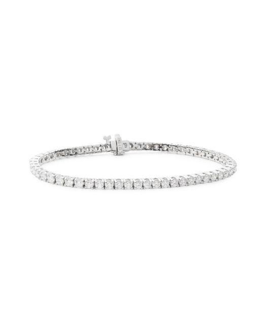 Saks Fifth Avenue | Multicolor 4.59 Tcw Diamond & 14k White Gold Bracelet | Lyst