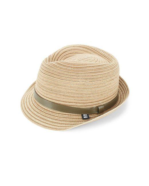 Block Headwear | Natural Braided Straw Hat | Lyst