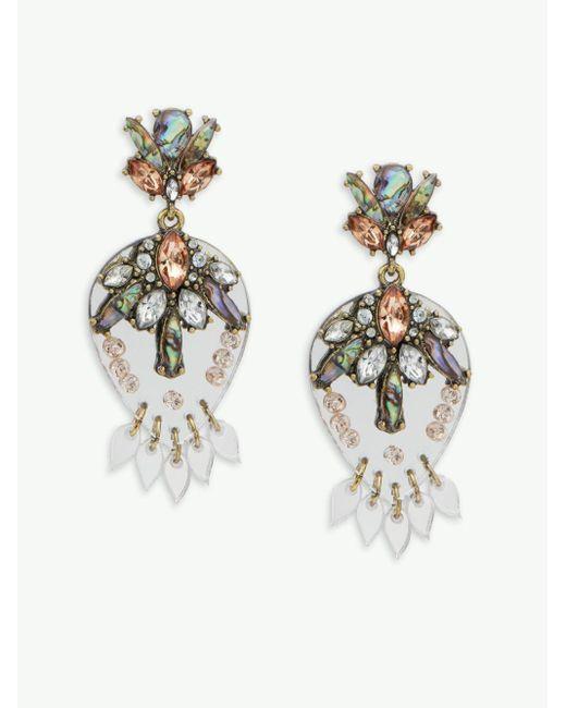 BaubleBar | Metallic Goldtone Stud Earrings | Lyst