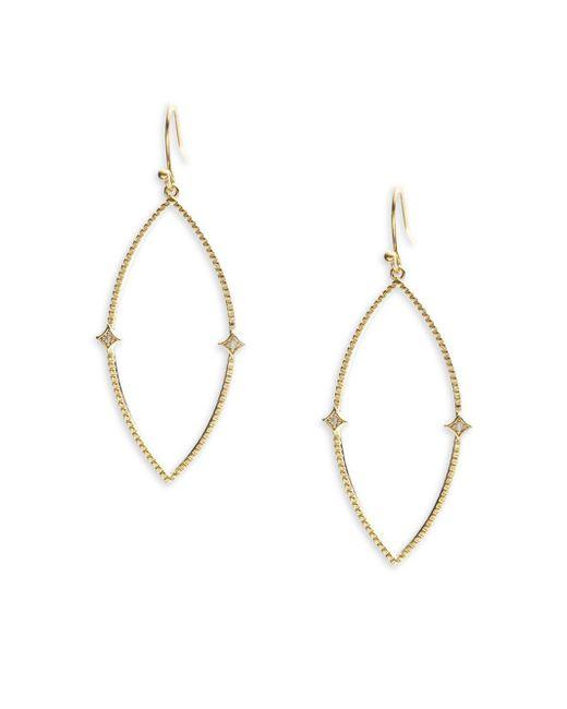 Panacea | Metallic Elegant Drop Earrings | Lyst