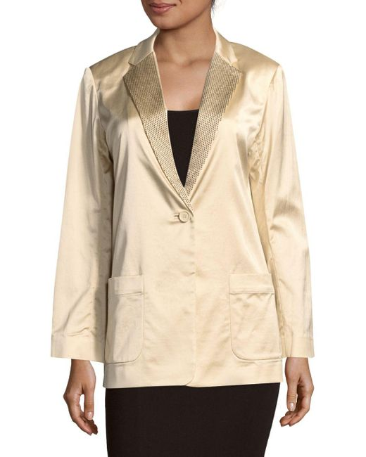 Marc By Marc Jacobs | Natural Washed Satin Jacket | Lyst
