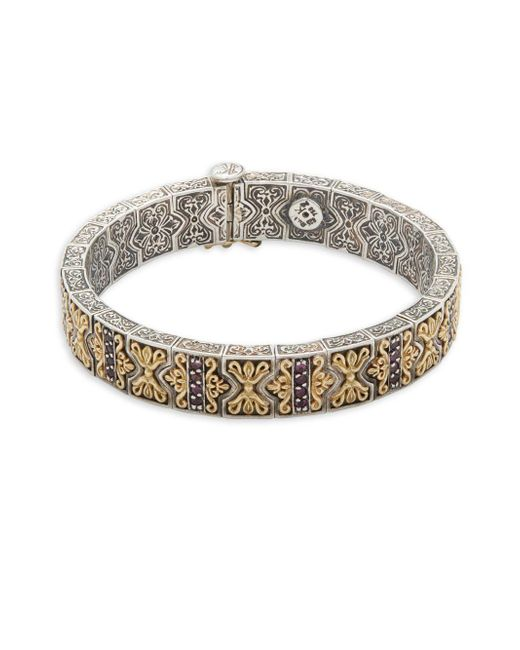 Konstantino | Metallic Artemis 18k Yellow Gold & Sterling Silver Bracelet | Lyst