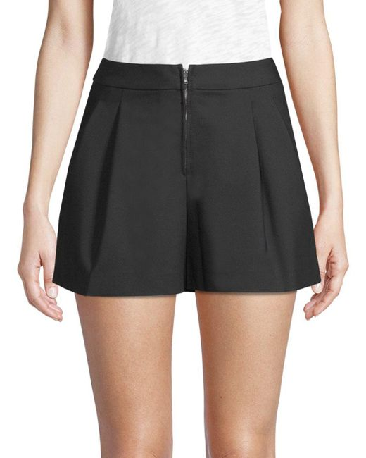 3.1 Phillip Lim - Black Pleated Shorts - Lyst