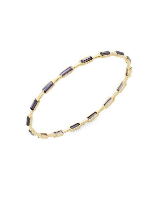 Ippolita - Metallic Rock Candy Iolite & 18k Gold Bangle Bracelet - Lyst