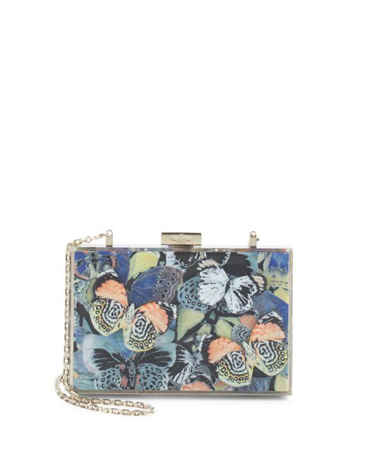 Valentino | Multicolor Butterfly Crossbody Convertible Clutch | Lyst