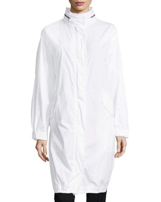 Vince - White Long Sleeves Coat - Lyst