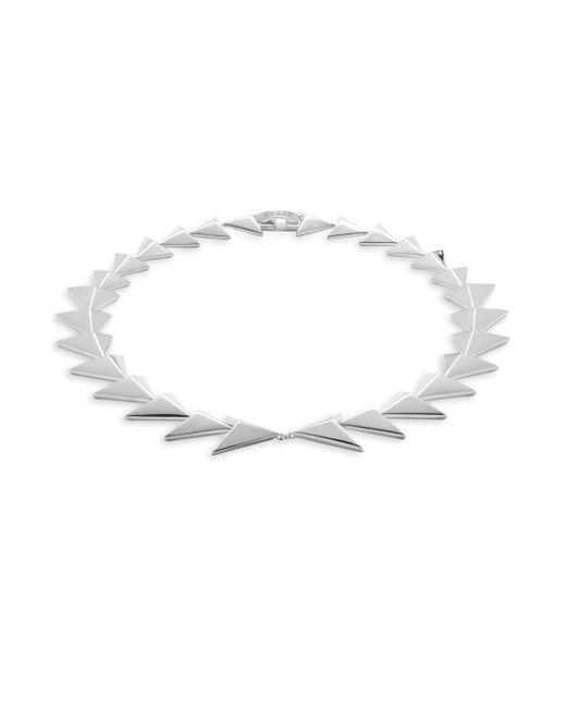 Noir Jewelry | Metallic Two-row Triangle Bracelet- 13in | Lyst