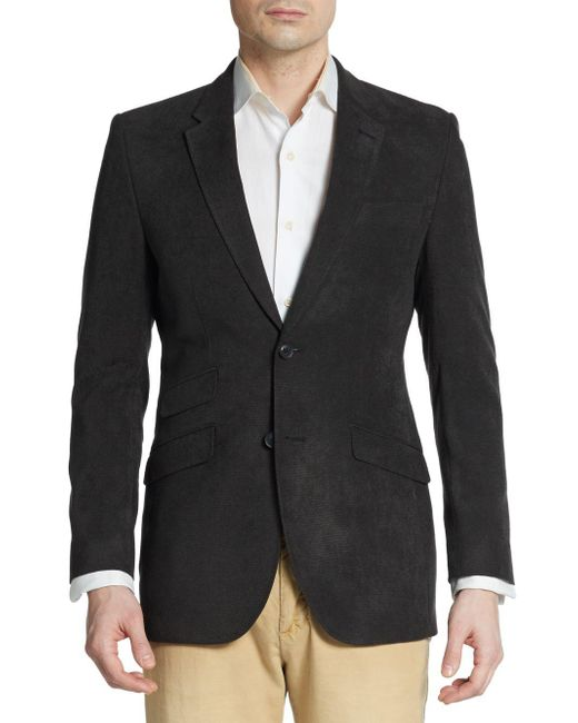 English Laundry - Black Regular-fit Twill Sportcoat for Men - Lyst