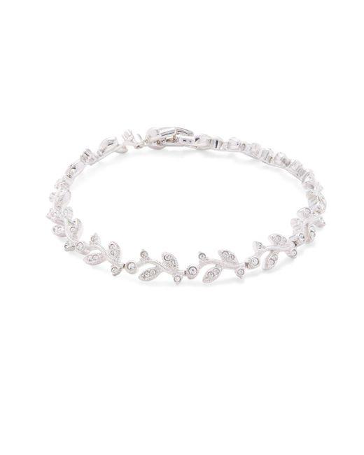 Adriana Orsini - Metallic Crystal Nouveau Vine Bracelet - Lyst