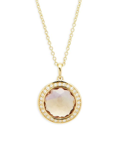 Ippolita - Metallic Lollipop Diamond And 18k Gold Pendant Necklace - Lyst