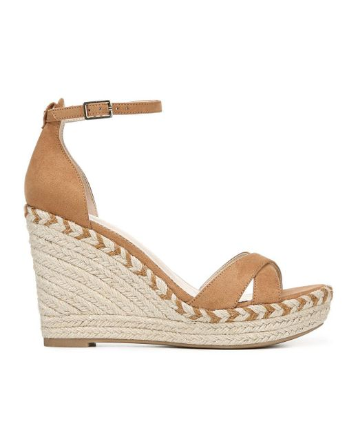 c24f329f8c128c Circus by Sam Edelman - Natural Renee Ankle-strap Wedge Espadrilles - Lyst  ...