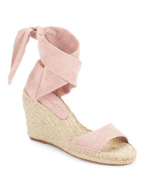 Splendid - Multicolor Jessica Open-toe Espadrille Wedge Sandals - Lyst
