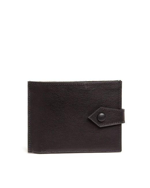 Maison Margiela - Metallic Leather Fold Card Wallet for Men - Lyst