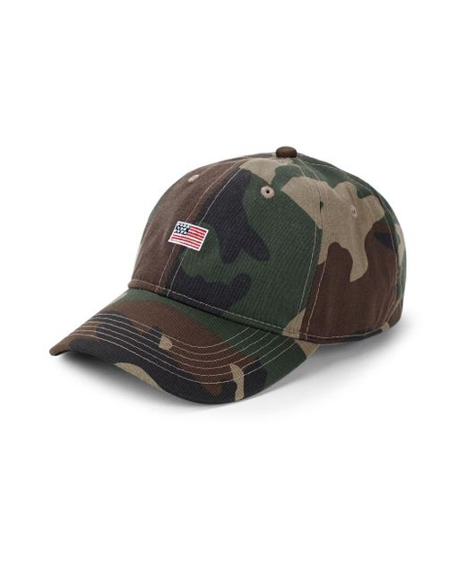 Block Headwear - Green Flag Cotton Baseball Cap for Men - Lyst