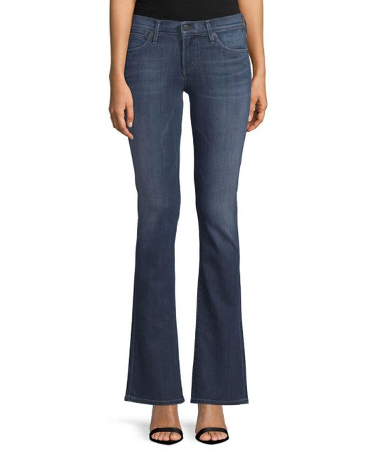 Citizens of Humanity - Blue Emannuelle Boot-cut Jeans - Lyst
