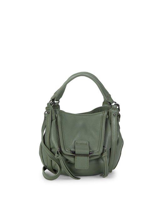 Kooba - Green Mini Jonnie Leather Shoulder Bag - Lyst