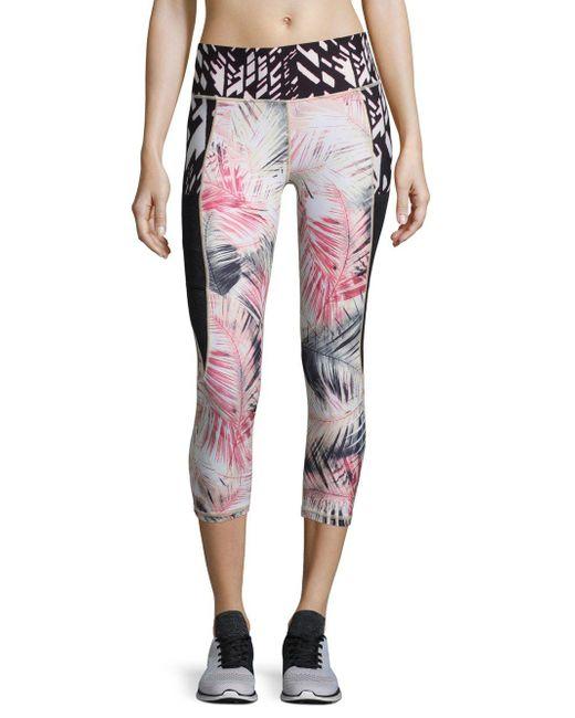 Nanette Lepore | Multicolor Smoothie Capri Leggings | Lyst