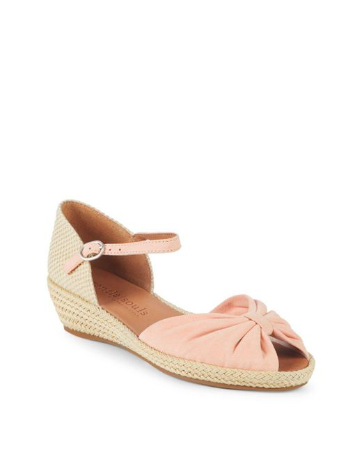 Gentle Souls - Pink By Kenneth Cole Ankle-strap Espadrilles - Lyst