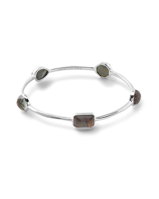 Ippolita - Metallic Rock Candy Sterling Silver Faceted Single Strand Bracelet - Lyst