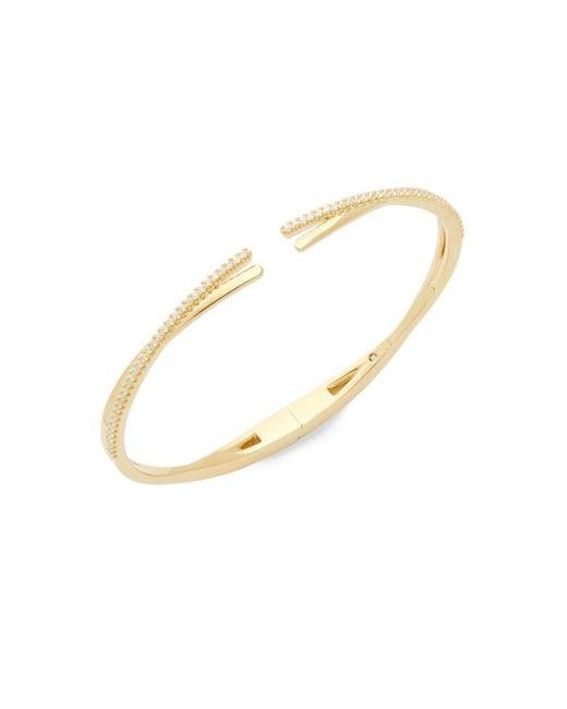 Adriana Orsini - Metallic Illusion Cuff Bracelet - Lyst