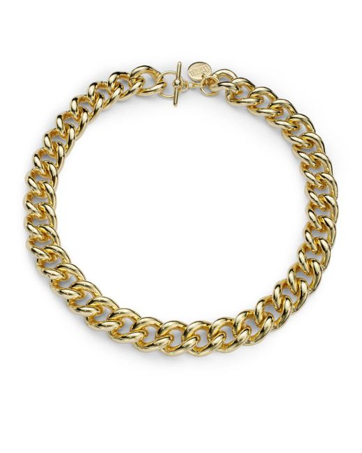 1ar | Metallic Classic Gourmette Toggle Necklace | Lyst